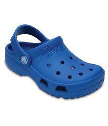 Crocs Blue Crocs Coast Clogs for Boys & Girls
