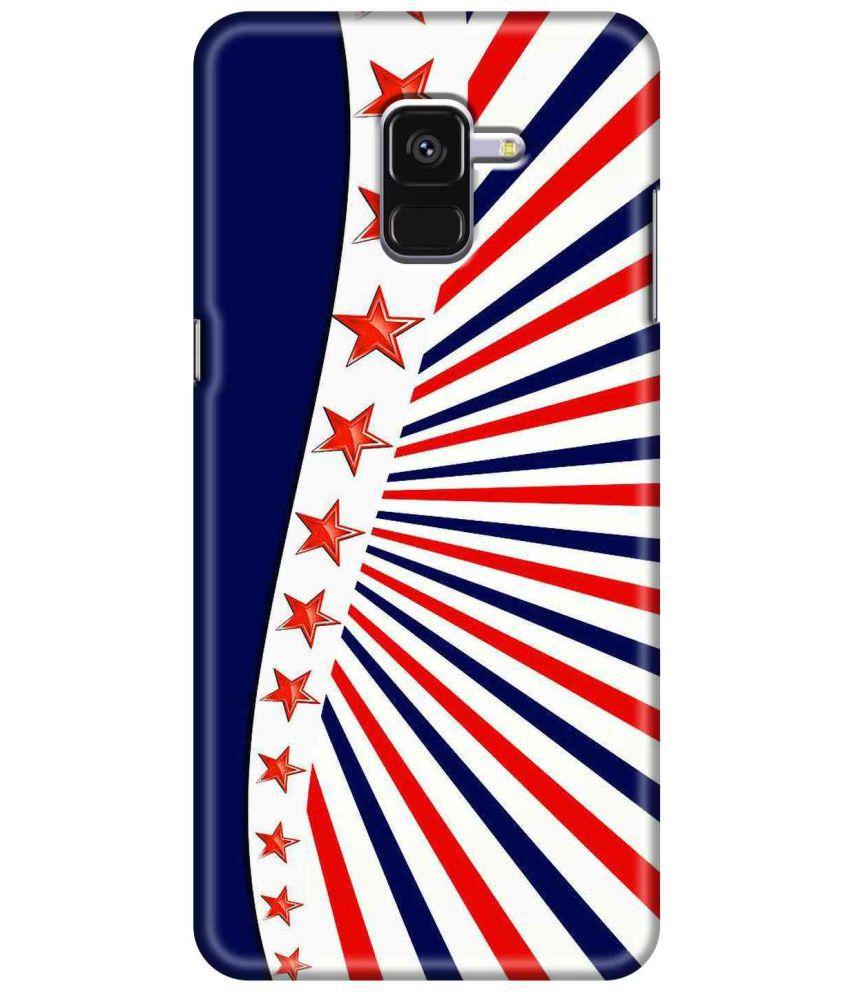 Samsung Galaxy A8 Plus Printed Cover By SWAGMYCASE