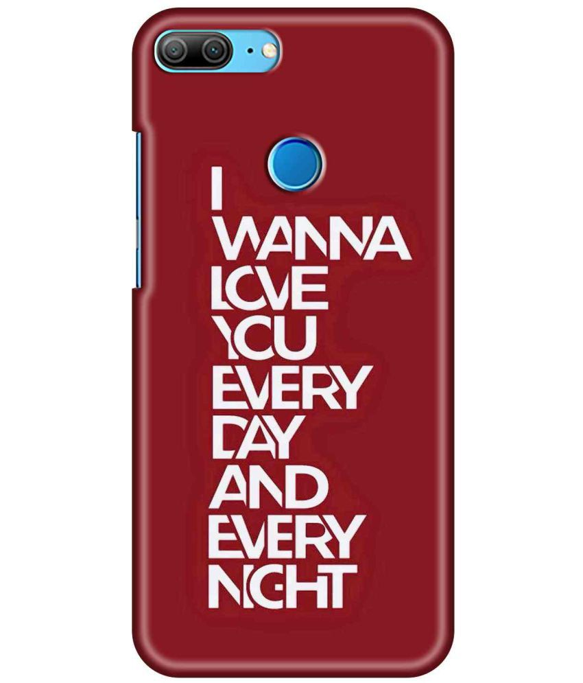 Huawei Honor 9 Lite Printed Cover By SWAGMYCASE