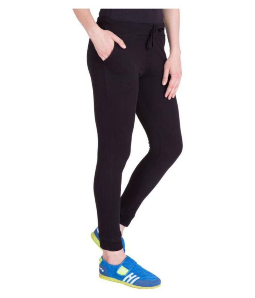 best price shop for best amazon Nike Black Track-pant for Women/Ladies For Gym Wear gym tshirts /Gym Wear