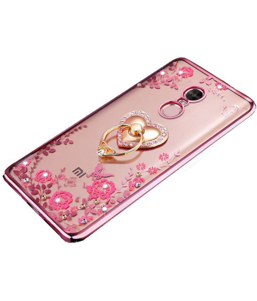 1b6ea3ce0cdd02 Xiaomi Mi 5S Plus Plain Cases LOXXO - Rose Gold - Plain Back Covers Online at  Low Prices | Snapdeal India