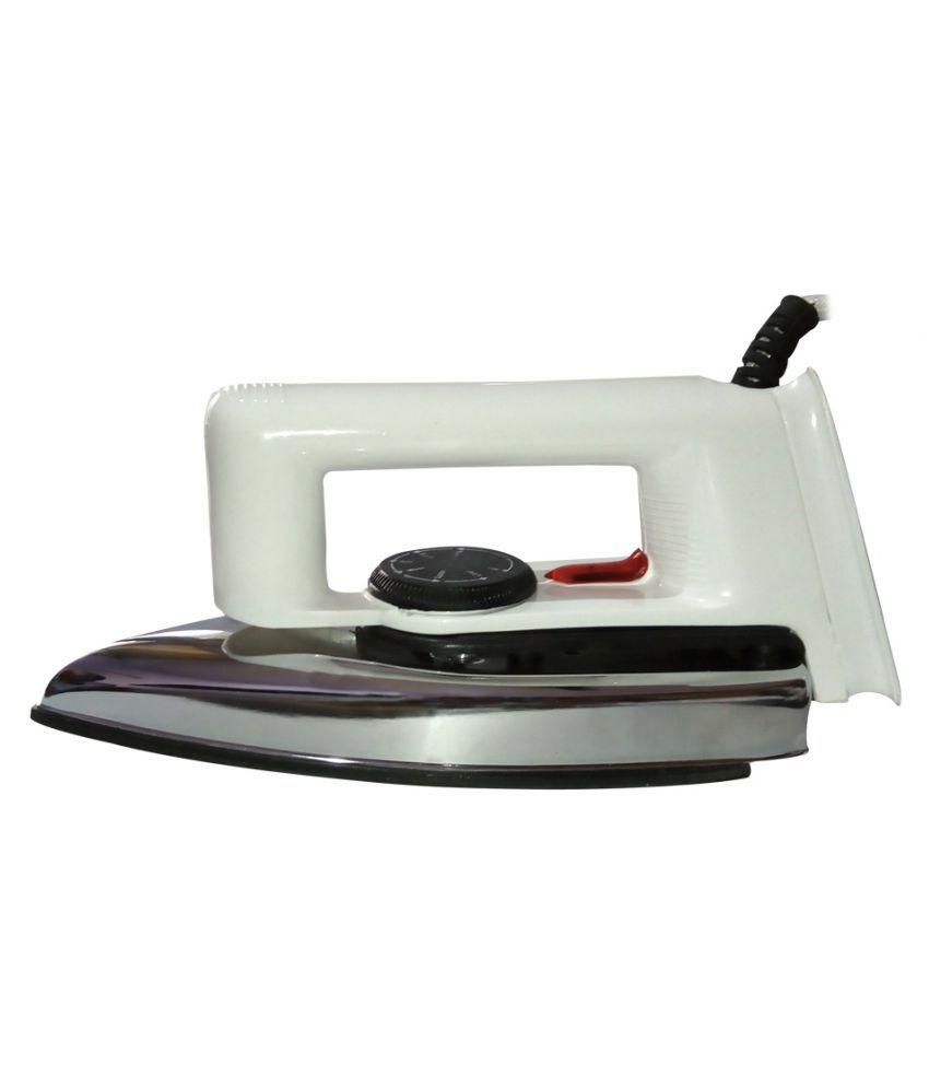 Optimus Ph 750W Slick Light Weight Dry Iron White