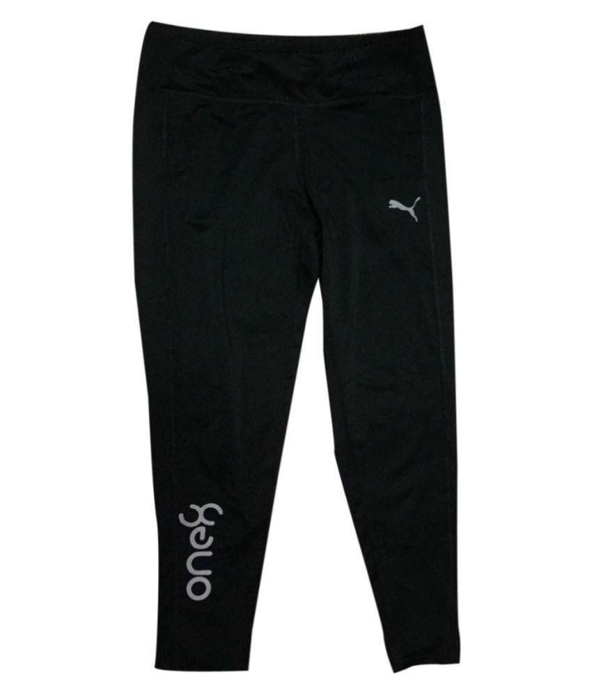 9125991df073 Puma one8 Black Women Girl s Jogging track pants  Buy Online at Best Price  on Snapdeal