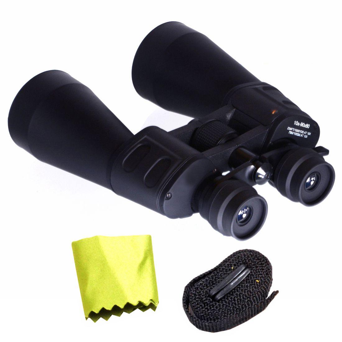 Bushnell 10-90X80 Zoom 10-90X Waterproof Prism Binocular Monocular  Telescope with Pouch