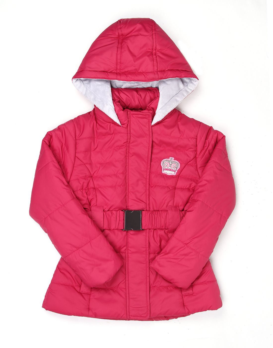 London Fog Girls Cherry Full Sleeve Jacket