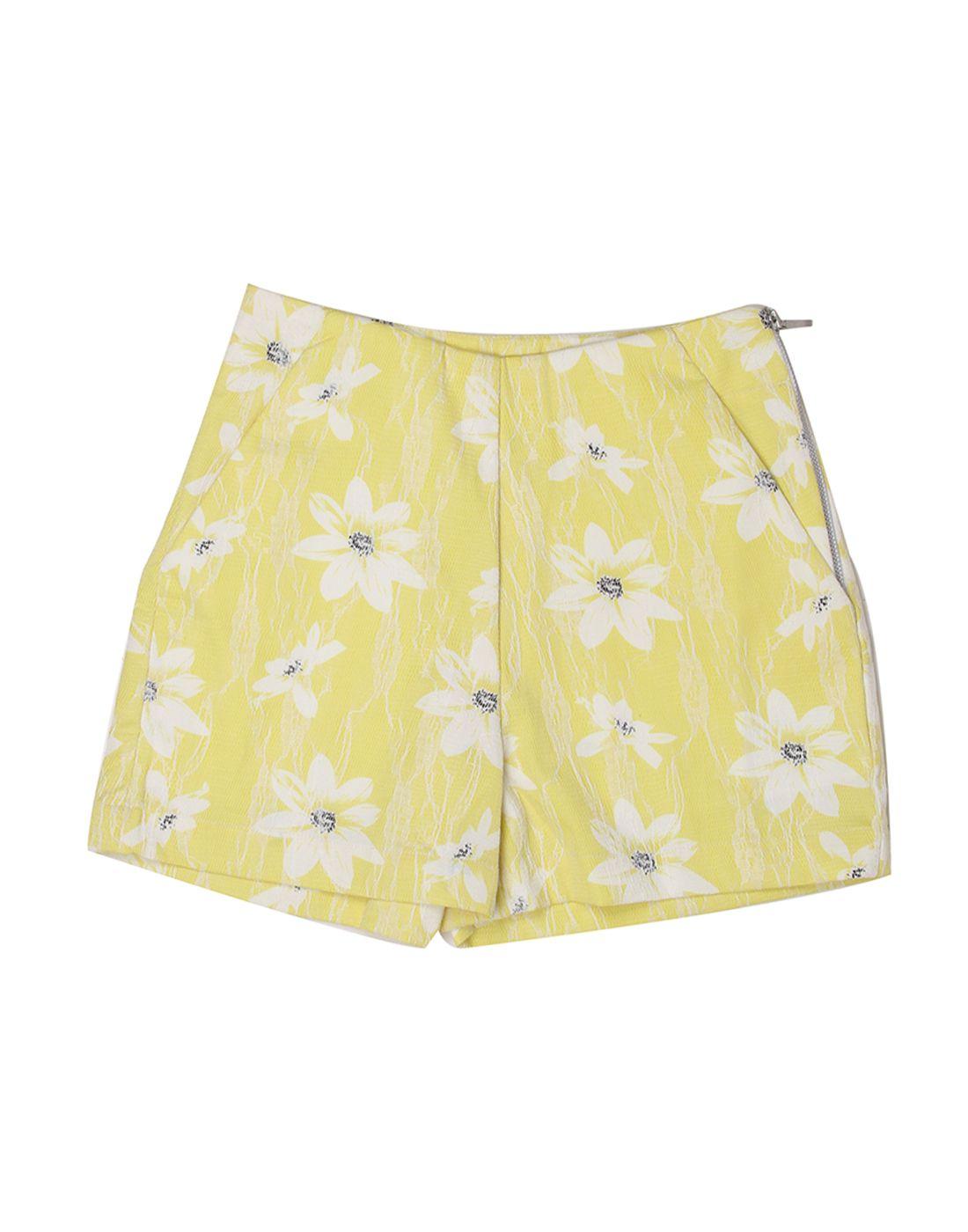 London Fog Girls Yellow  Short