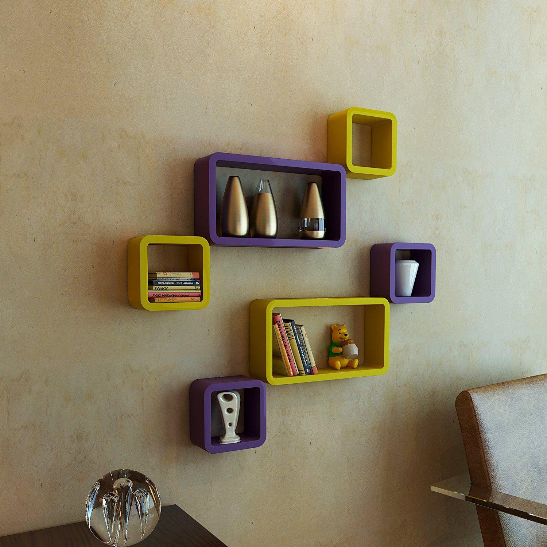 Royals Floating Shelf/ Wall Shelf / Storage Shelf/ Decoration Shelf Multicolour - Pack of 1
