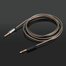 WowObjects Replacement Upgrade Silver Audio Cable Wire For Marshall monitor VISO HP50 FOCAL One PSB Headphones