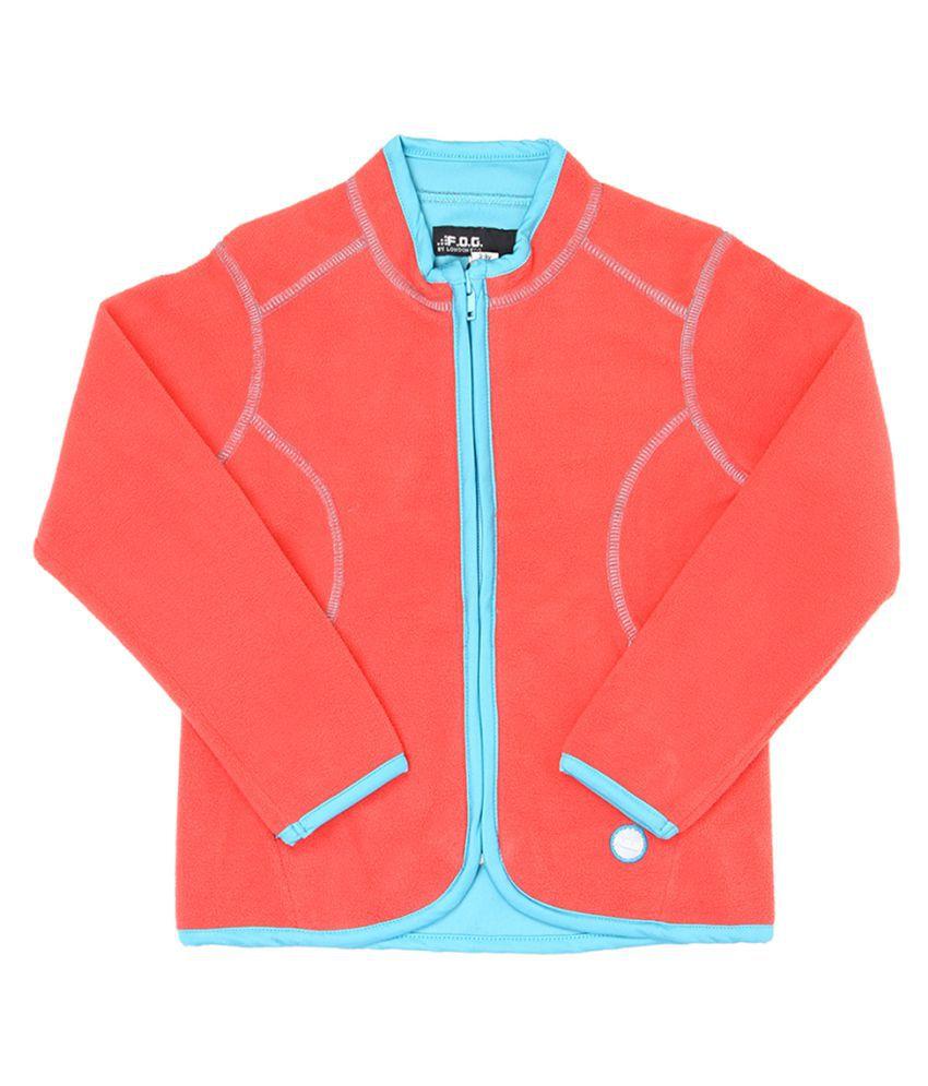 London Fog Girls TURQUOISE Full Sleeve Sweat Shirt