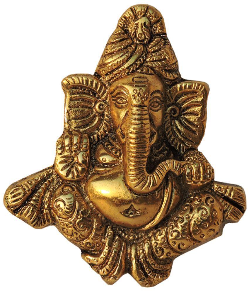 ARIHANTT Gold Aluminium Handicraft Showpiece - Pack of 1