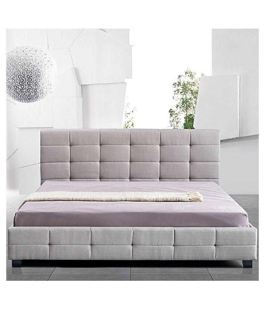 winger linen king bed buy winger linen king bed online at best