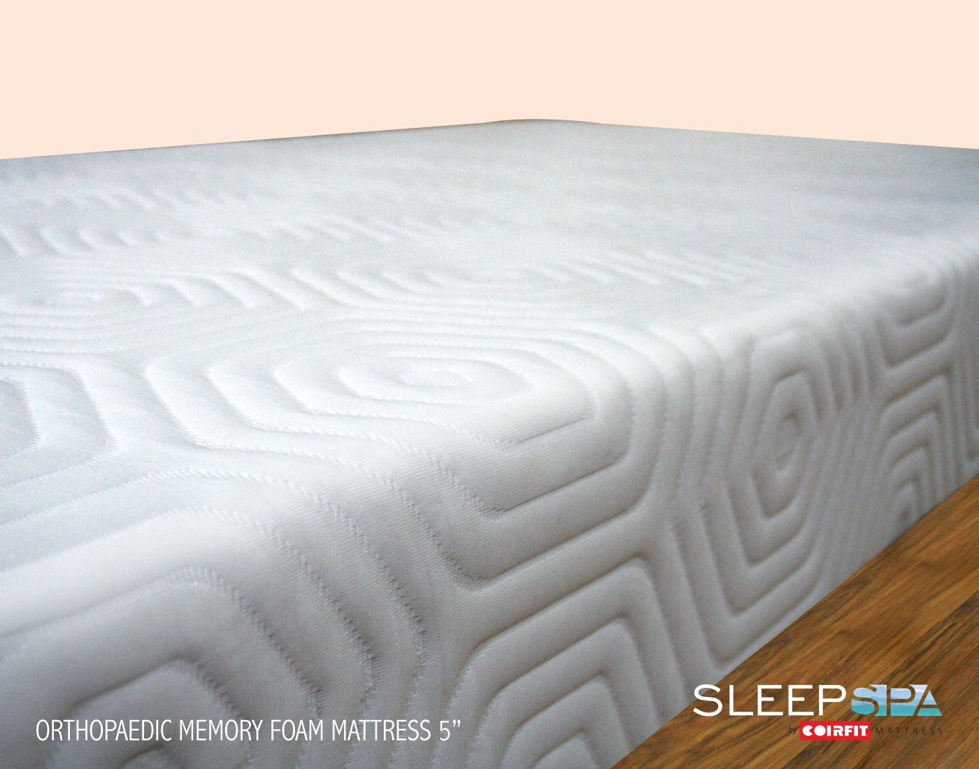 sleep spa premium orthopedic 5 inches 13 cm 5 in memory foam