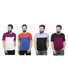Rico Sordi Multi Round T-Shirt Pack of 4