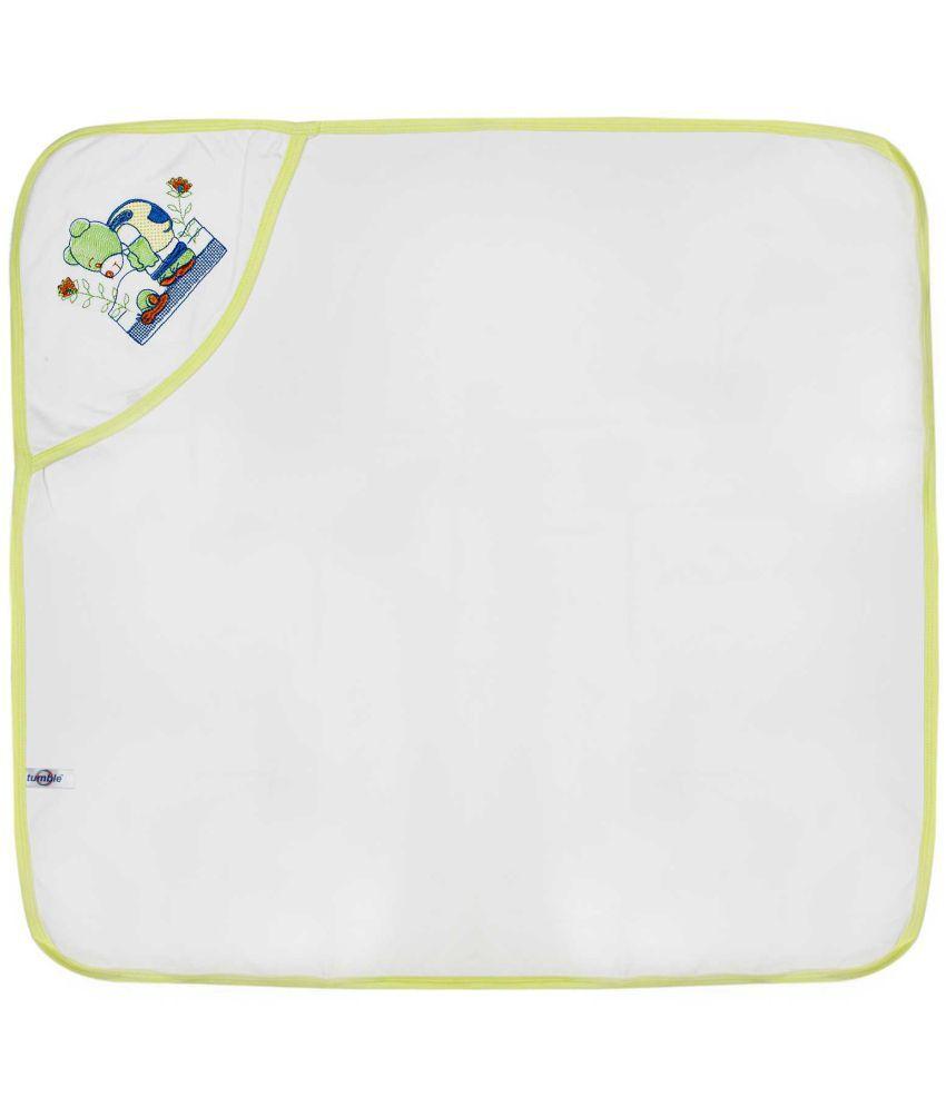 Tumble Yellow Cotton Bath Towels Baby Blanket/Baby Swaddle/Baby Sleeping Bag