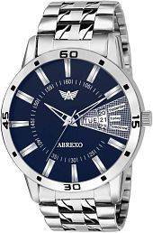 Abrexo Abx-1157-Silver Analog Watch - For Men