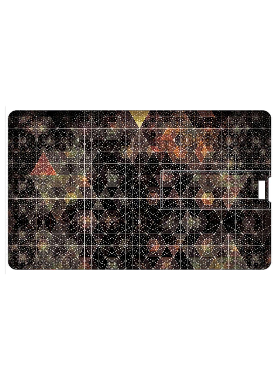 Design Worlds Credit Card Shape Pendrive 16GB USB 2.0 Fancy Pendrive Single