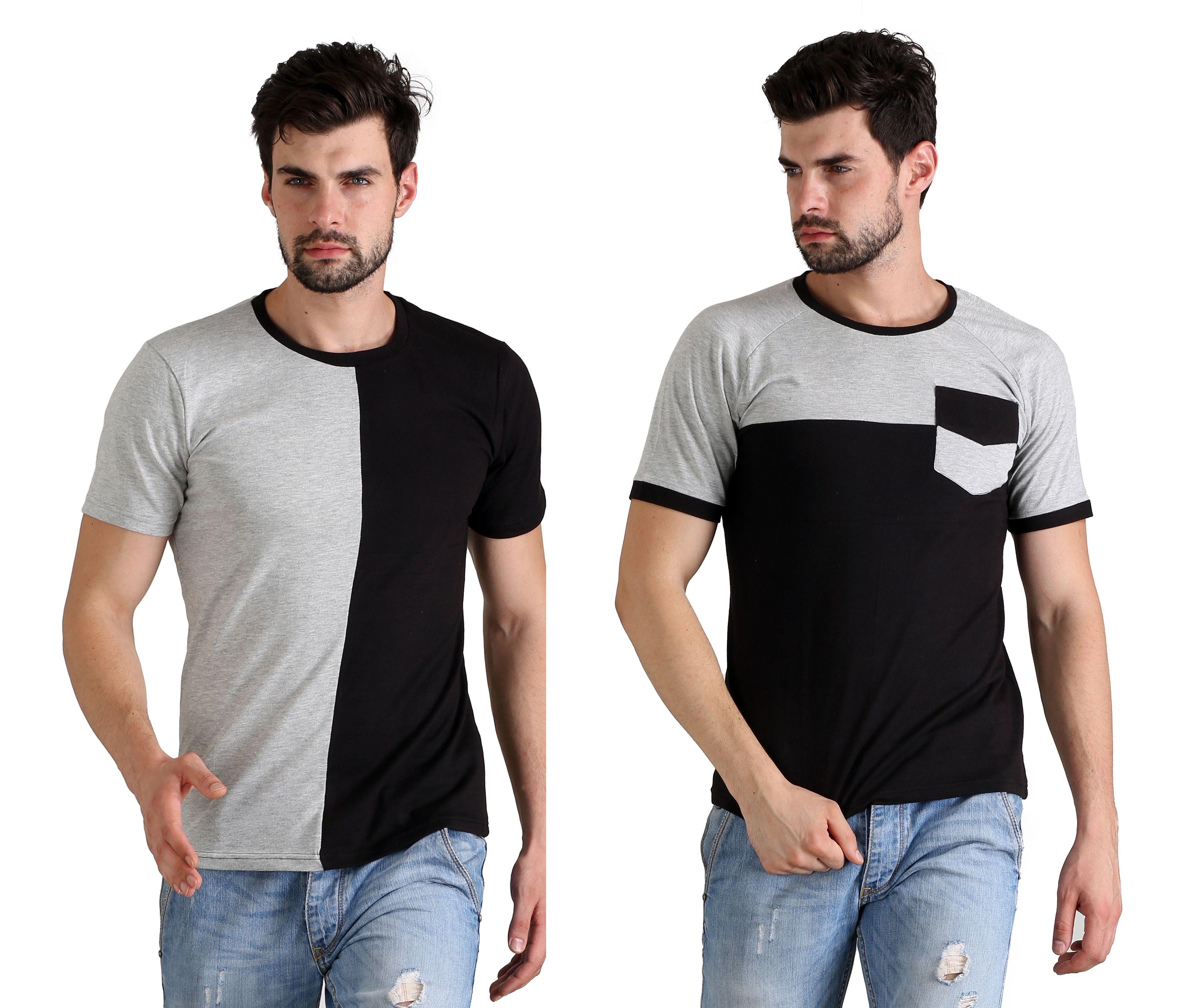 Flingr Multi Round T-Shirt Pack of 2