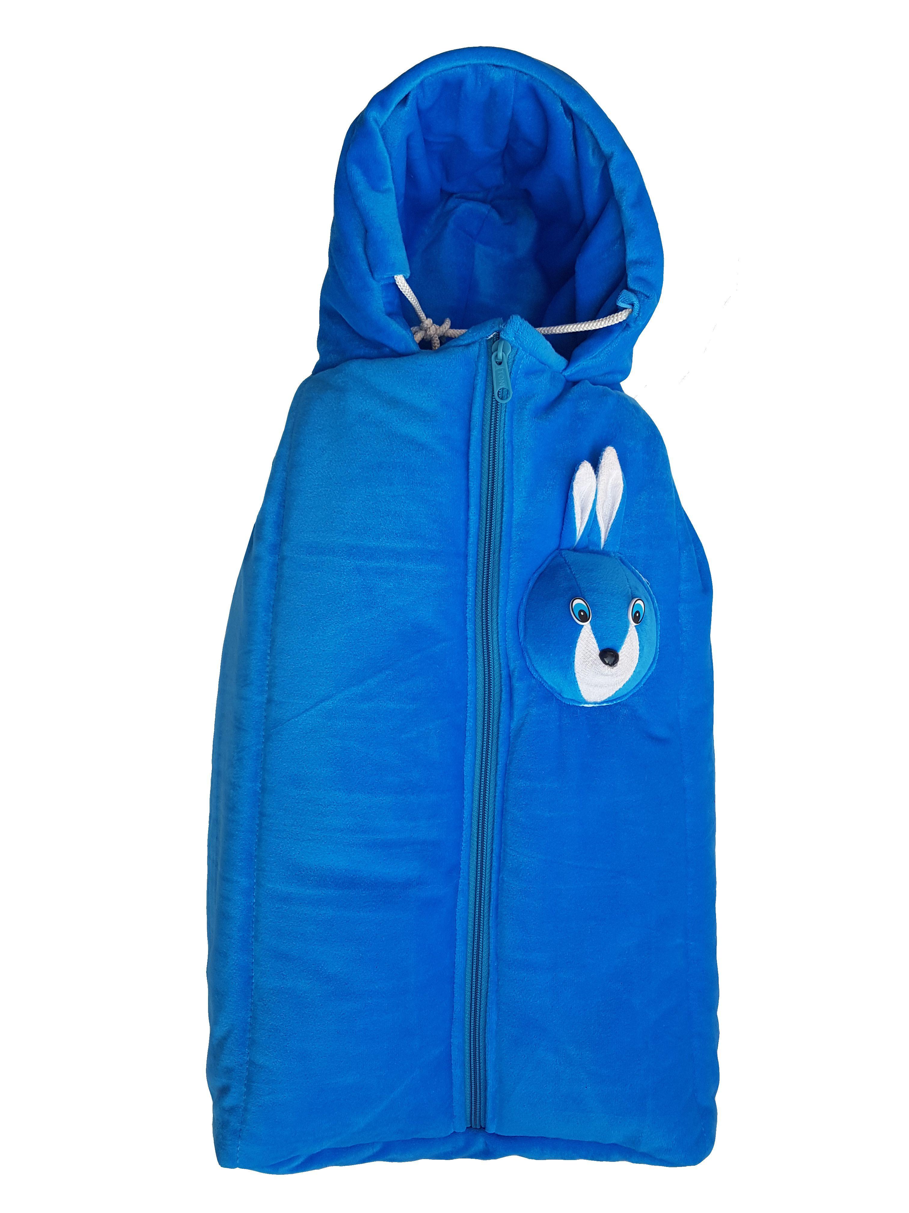 My NewBorn Blue Cotton Sleeping Bags ( 63 cm × 38 cm)