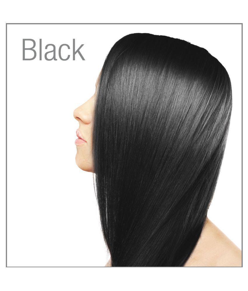 Shagun Gold Black Henna Hair Colour Powder Semi Permanent Hair Color
