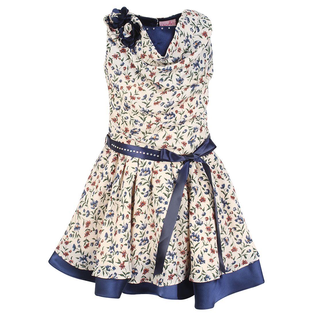 Cutecumber Girls Partywear Georgette Dress