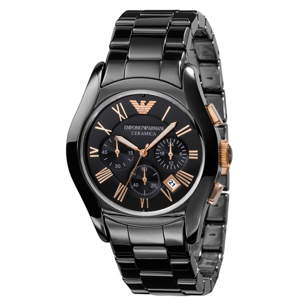 Emporio Armani AR1410 Ceramica Chronograph Watch For Men