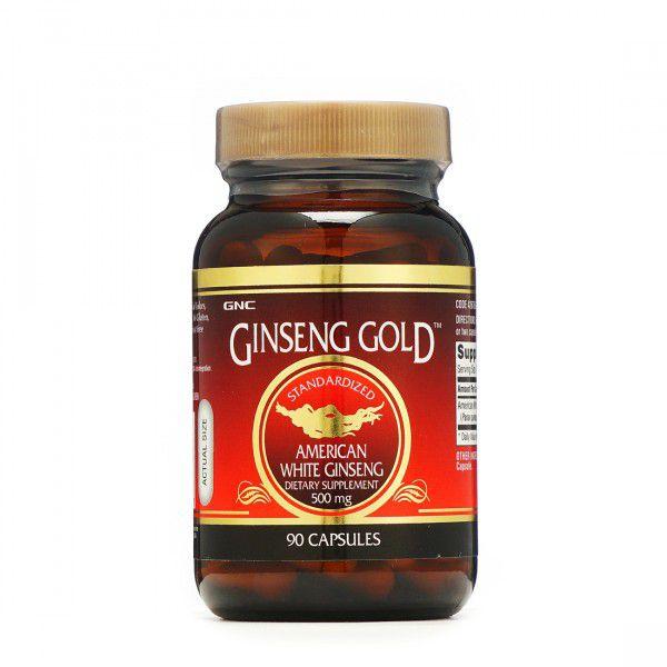 GNC American Ginseng Cap 500mg 90 no.s Unfalvoured