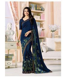 Gazal Fashions Multicoloured Chiffon Saree