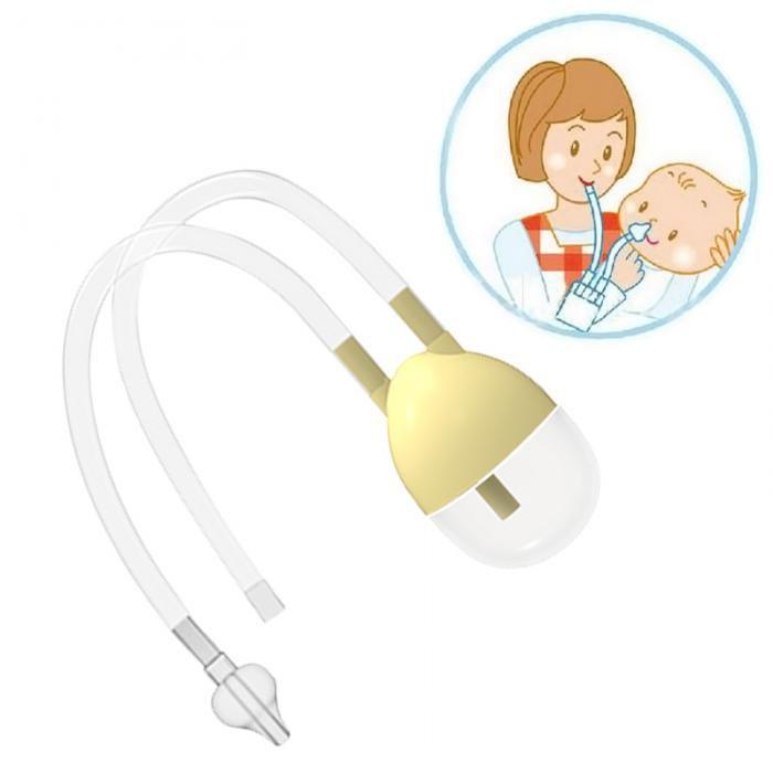 BioAqua Silicone Nasal Aspirator ( 1 pcs) for New Born Baby