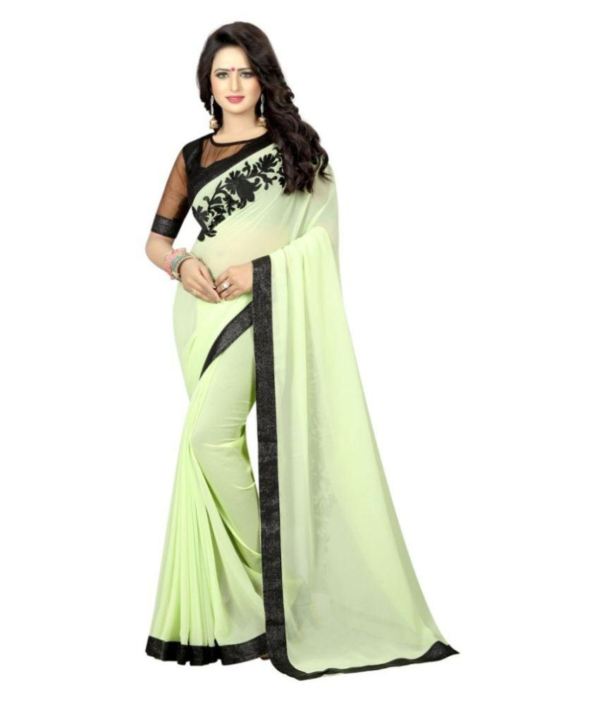 Nena Fashion Multicoloured Georgette Saree