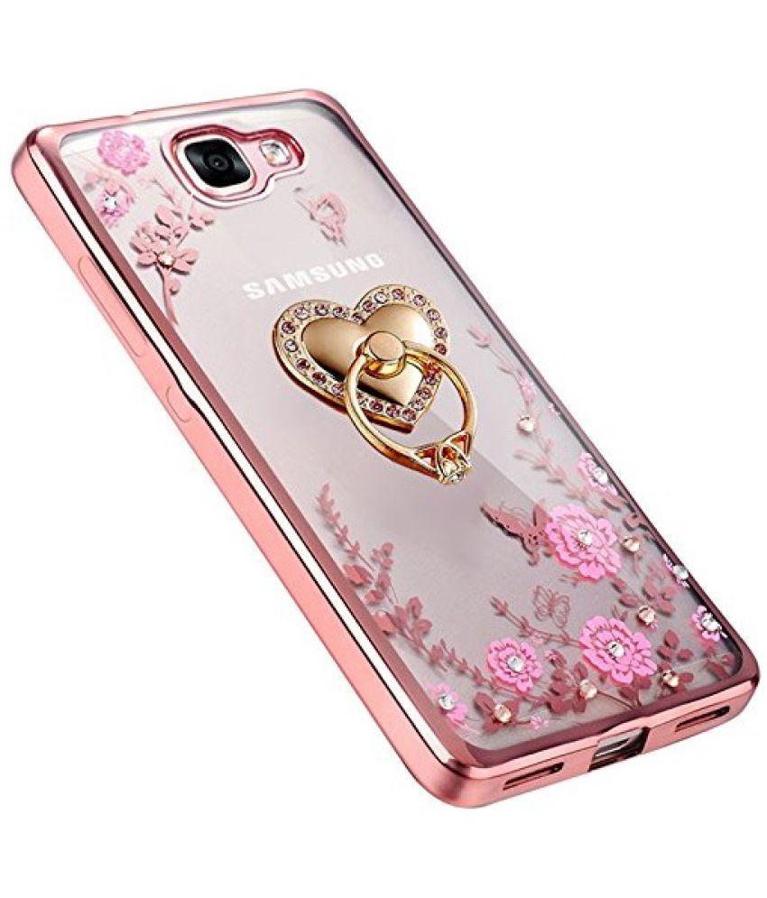 Samsung Galaxy J5 Prime Plain Cases LOXXO - Rose Gold