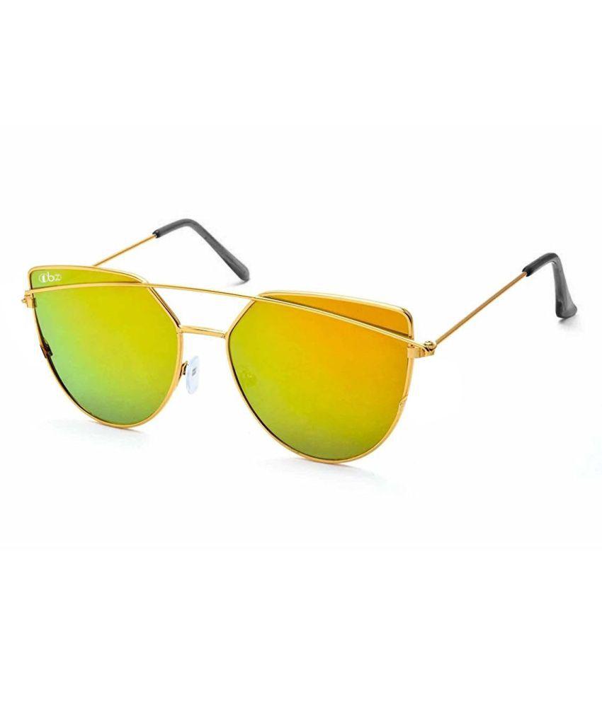 TBZ Green Aviator Sunglasses ( SG-DORMUR-GRN_B )