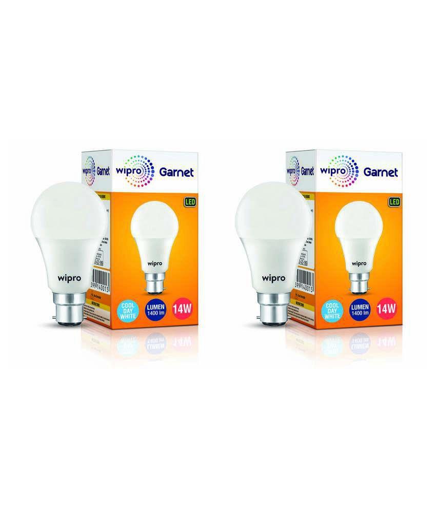 Wipro 14W Pack of 2 LED Bulb
