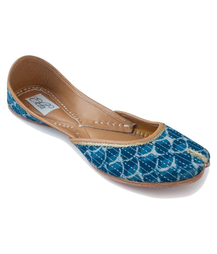 Ekta Beige Ethnic Footwear