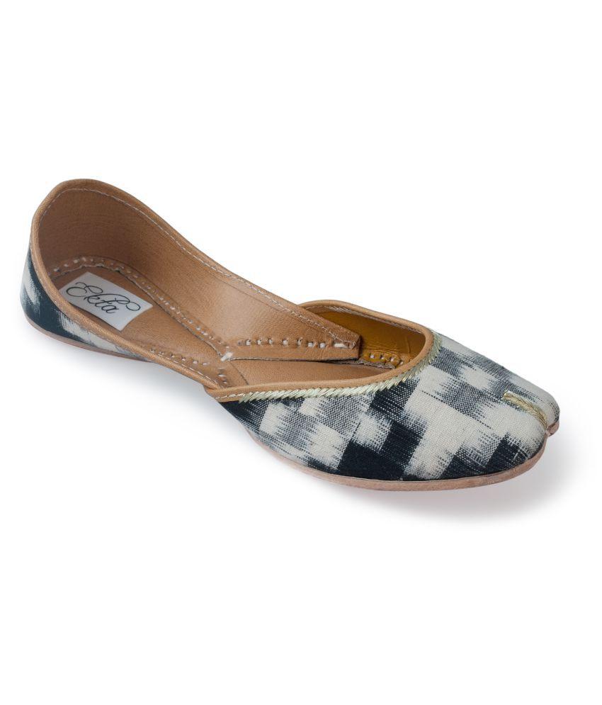 Ekta Multi Color Ethnic Footwear