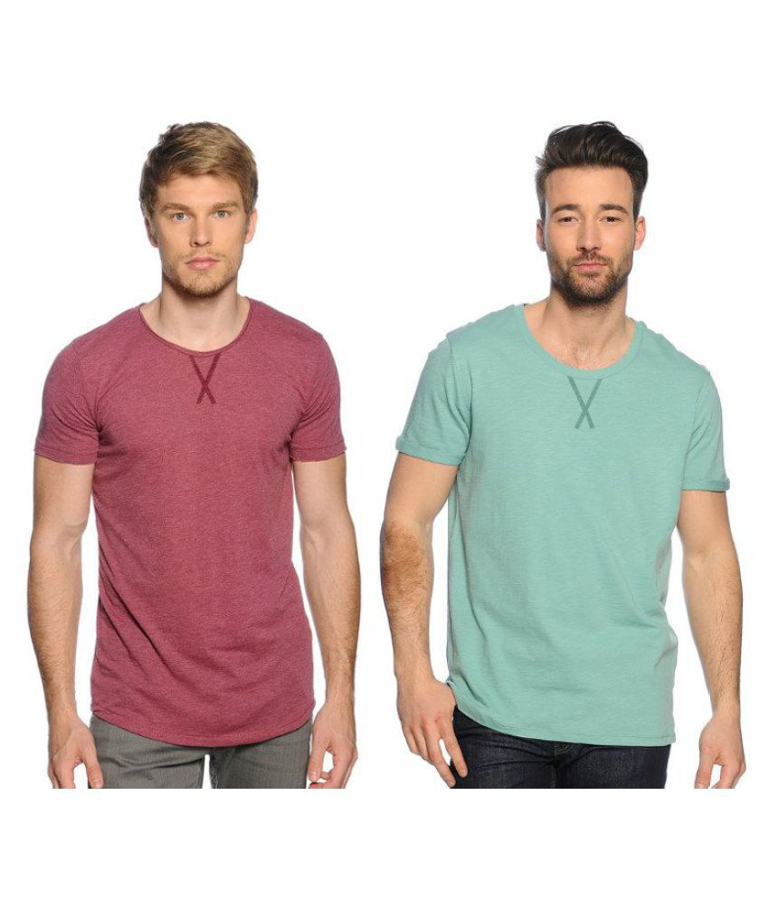 Zachi Green Round T-Shirt Pack of 2