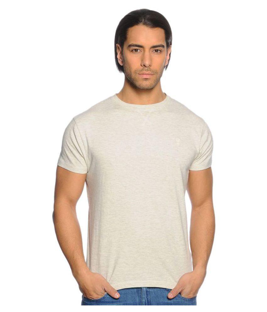 Zachi White Round T-Shirt