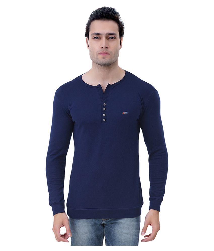RoyalShoppingCart Navy Round T-Shirt