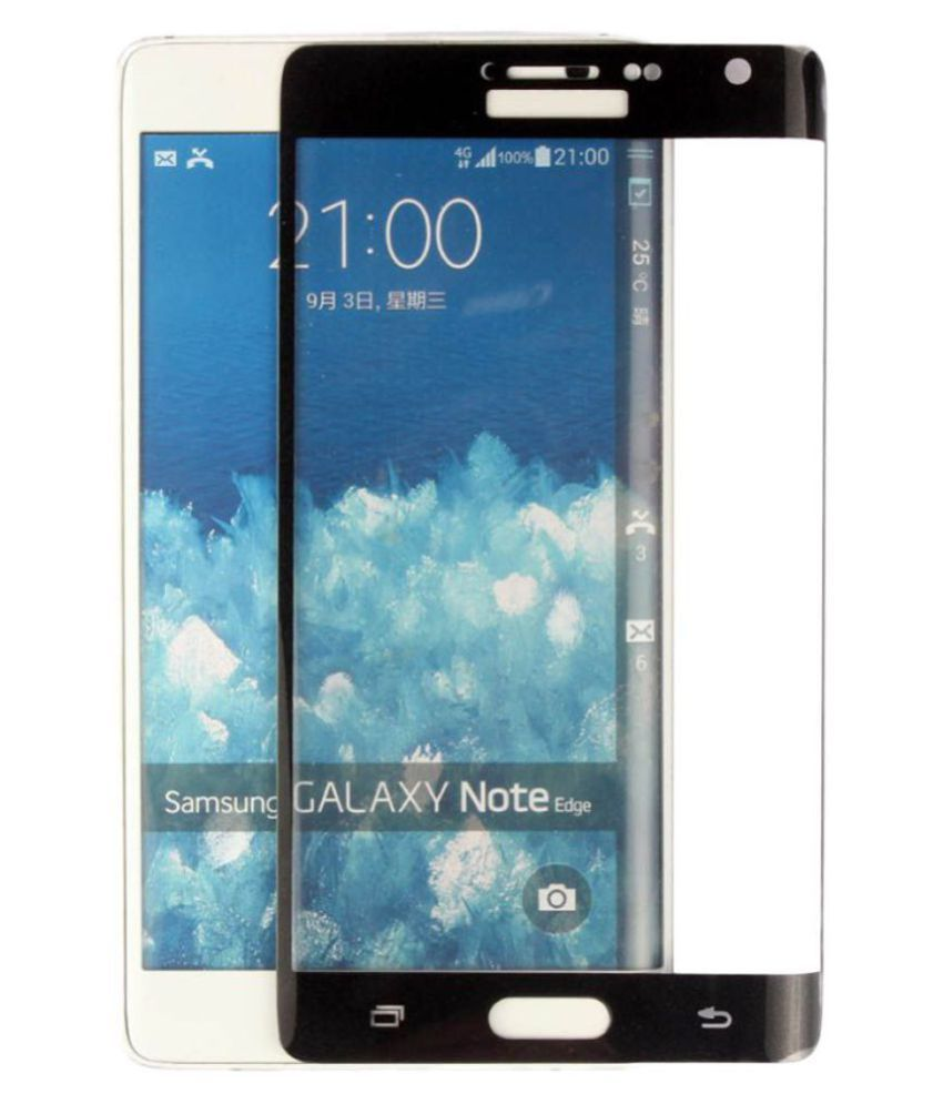 Samsung Galaxy Note Edge Tempered Glass Screen Guard By ELEF