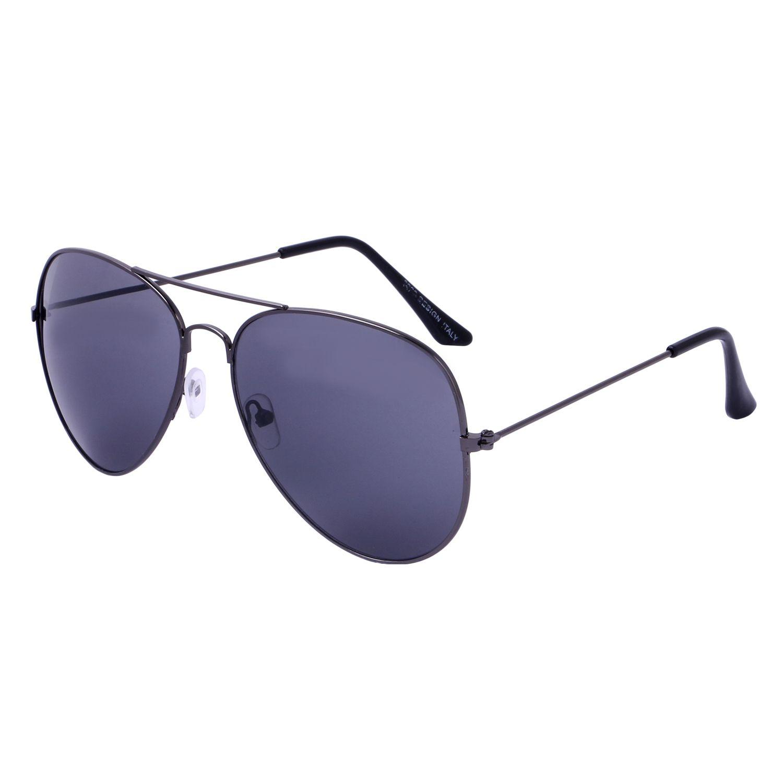 Amour Propre Black Aviator Sunglasses ( AP_AVTR_BLK_DC_LPOUCH_81 )