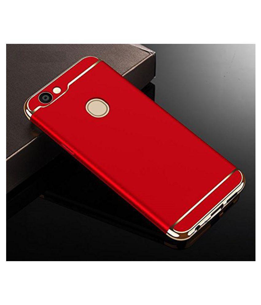 the latest e1770 b7ef6 Oppo F5 Plain Cases 2Bro - Red