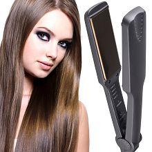 Jm Professional Travel Hair Straighteners Flat Iron 35W Hair Straightener ( Black )