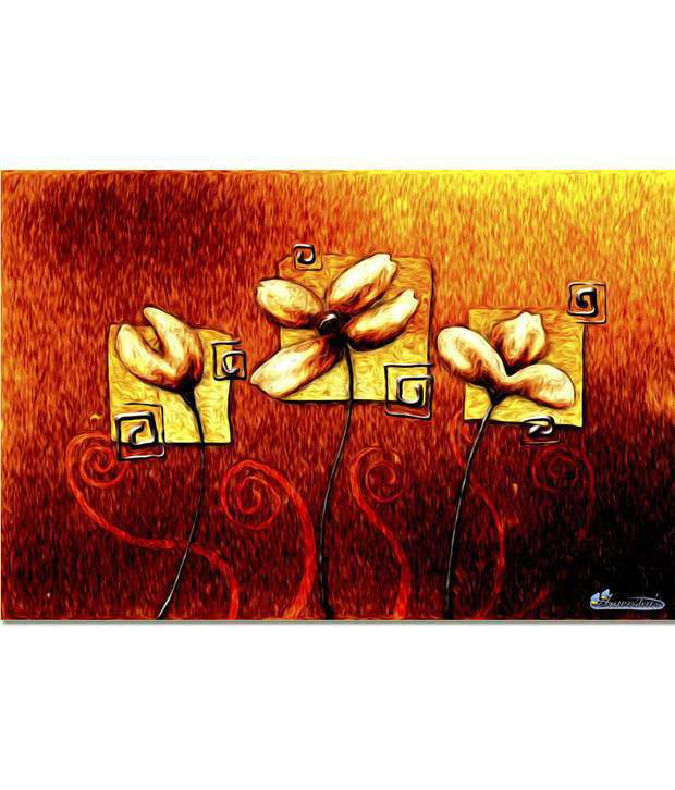Anwesha's Gallery Wrapped Digitally Printed 30x20 Inch - 083 Canvas Painting With Frame