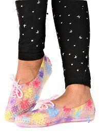 Falcon18 Women flat Eva Sole Croc Shoe Pink Slide Flip flop