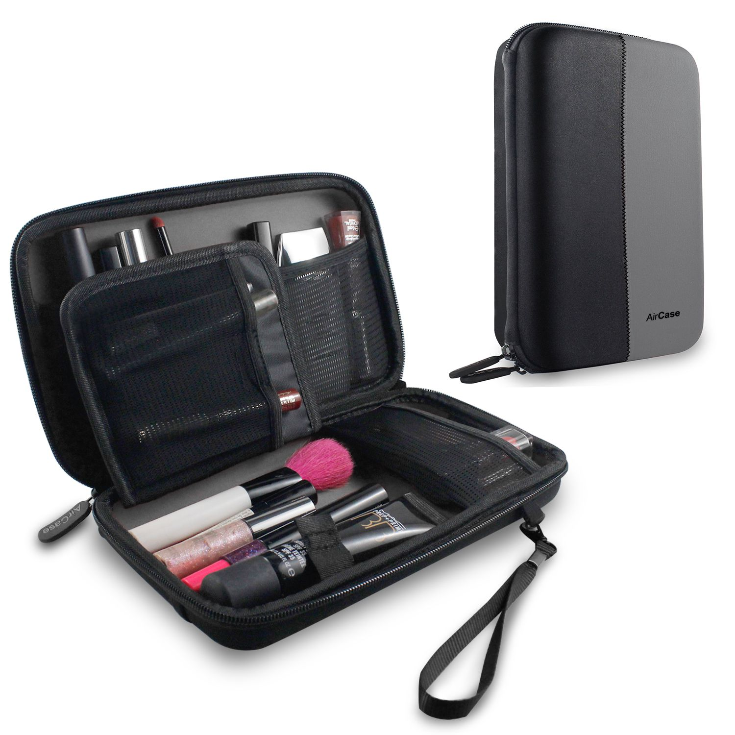 AirCase Multi Functional Cosmetic Organizer for Jewellery, Makeup and Cosmetic (Grey)