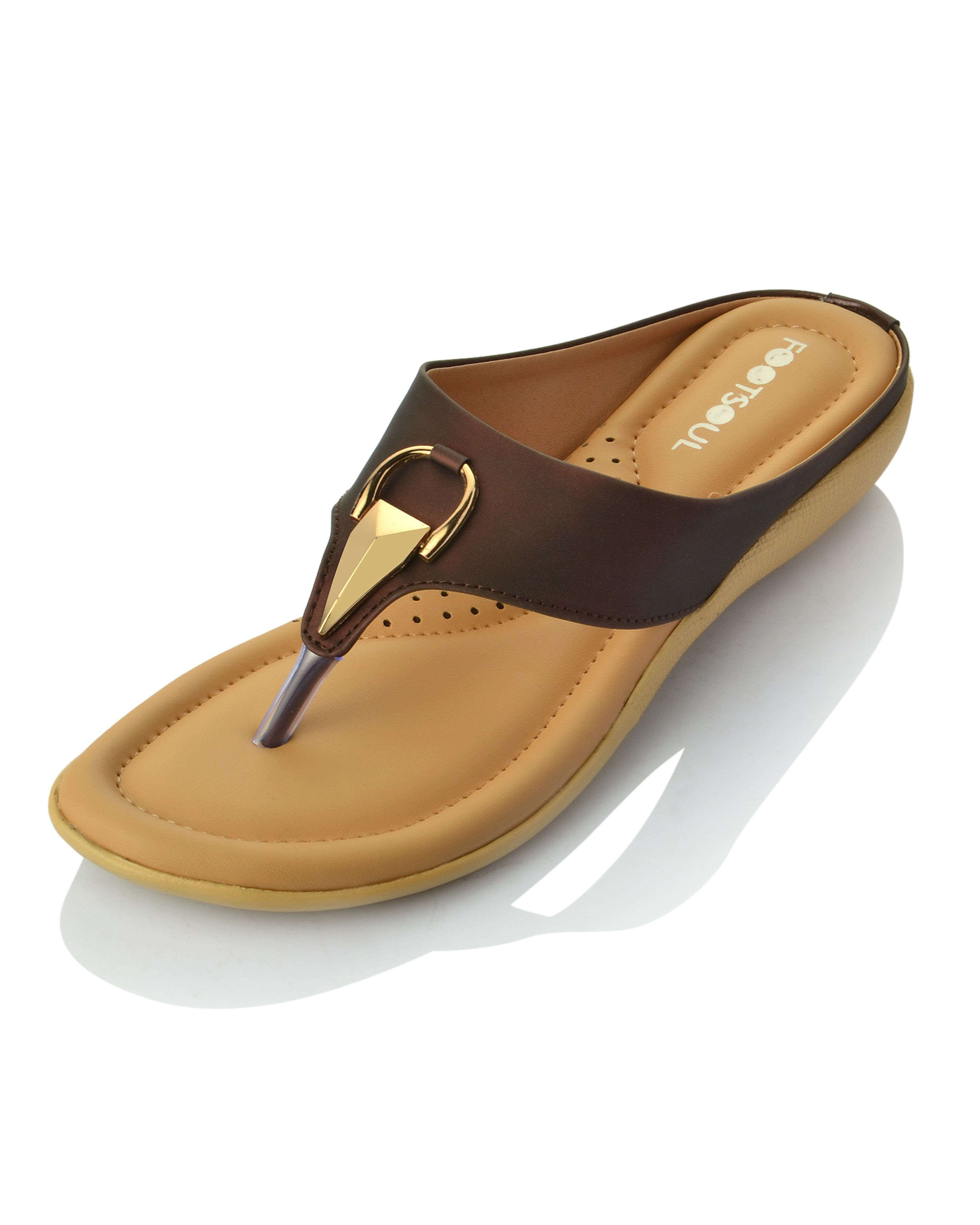Footsoul Brown Slippers