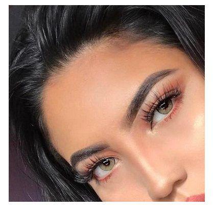 black pearl huda beauty pure hazel eye contact lenses mac