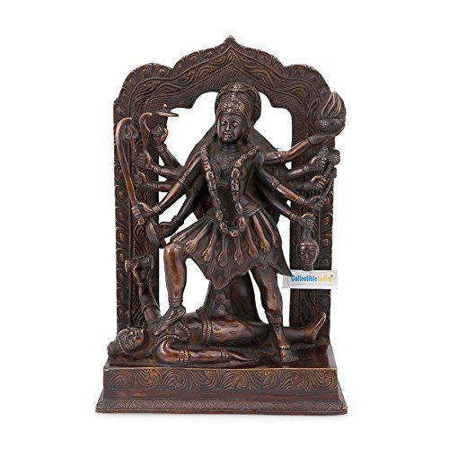 Collectible India Kali mata Brass Idol