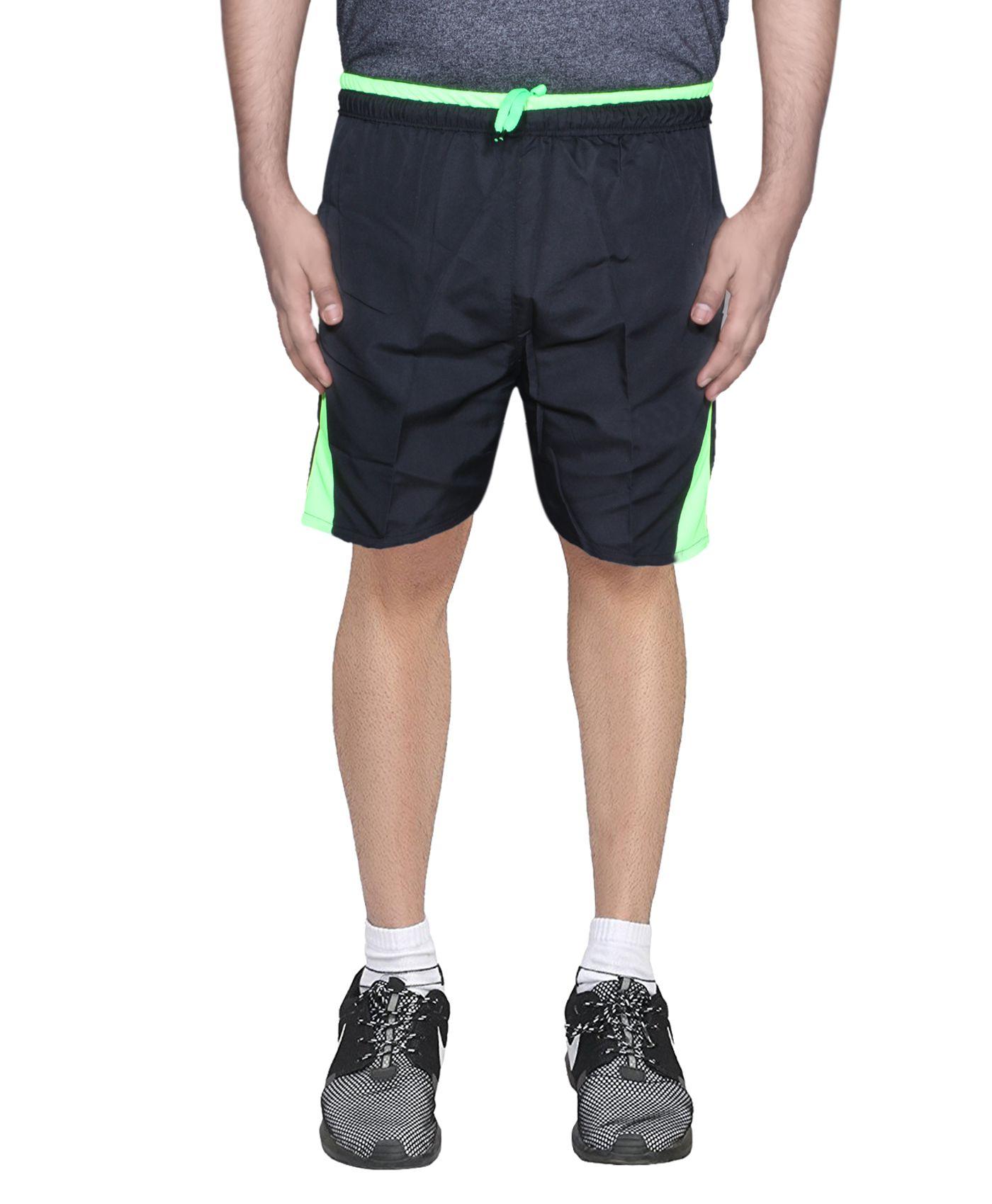 IndiWeaves Black Shorts /Bermuda