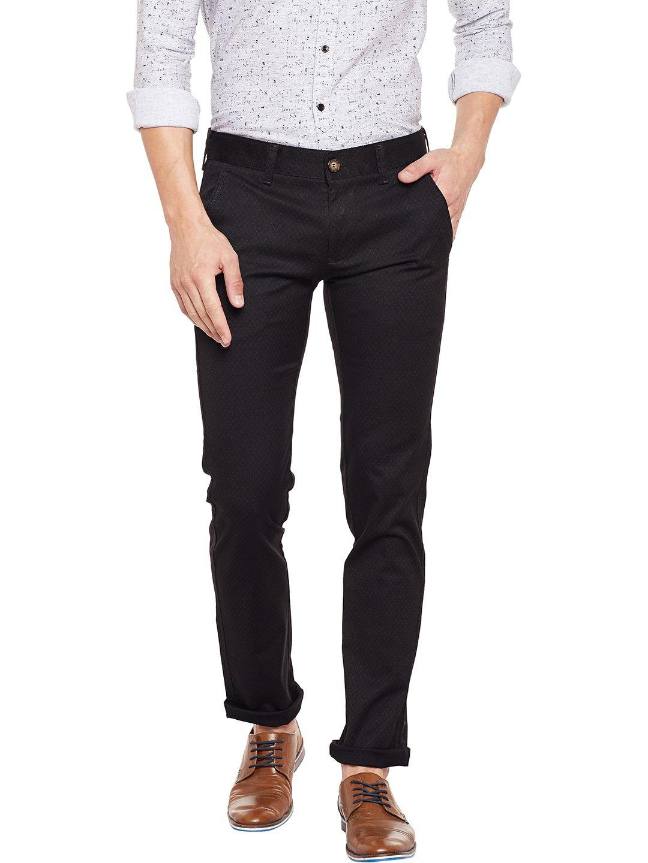 KILLER Brown Slim -Fit Flat Trousers