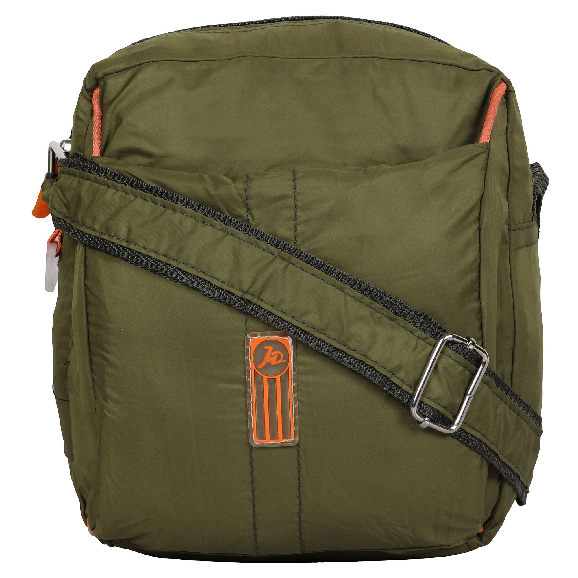 Anicks Green P.U. Sling Bag